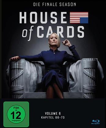 House of Cards - Staffel 6 - Die finale Staffel (3 Blu-rays)