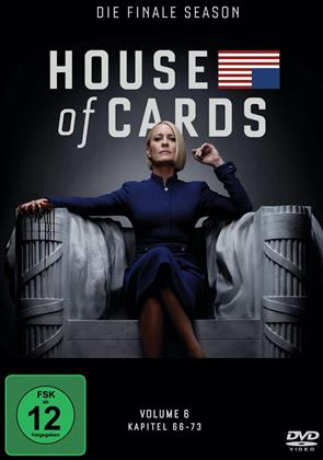 House of Cards - Staffel 6 - Die finale Staffel (3 DVDs)