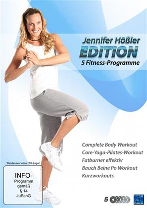Jennifer Hössler Edition - 5 Fitness-Programme (5 DVDs)