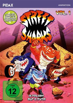 Street Sharks - Vol. 1 (Pidax Animation, 2 DVDs)