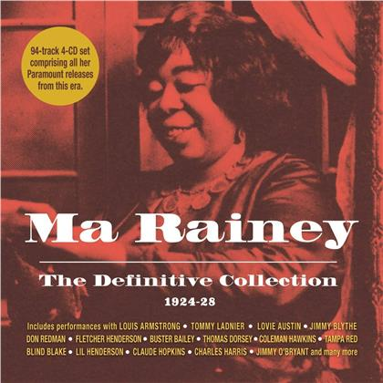 Ma Rainey - Definitive Collection 1924 -1928 (4 CDs)