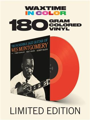 Wes Montgomery - Incredible Jazz Guitar Of Wes Montgomery (Waxtime, 2019 Reissue, Red Vinyl, LP)