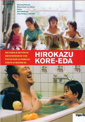 Horokazu Kre-Eda - Nobody Knows / Maboroshi no hikari / Hana / Still Walking / Like Father, Like Son (6 DVDs + Buch)