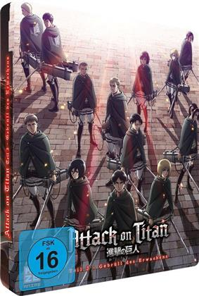Attack on Titan - Anime Movie Teil 3 - Gebrüll des Erwachens (2018) (Steelcase, Limited Edition)