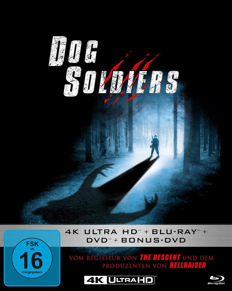 Dog Soldiers (2002) (Mediabook, 4K Ultra HD + Blu-ray + 2 DVDs)