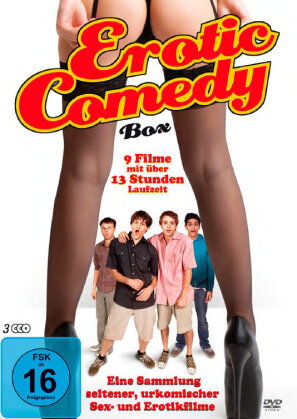 Erotic Comedy Box (3 DVDs)