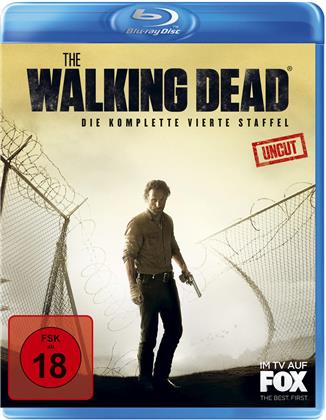 The Walking Dead - Staffel 4 (Neuauflage, Uncut, 5 Blu-rays)