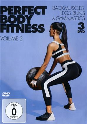Perfect Body Fitness - Vol. 2 - Backmuscles, Legs, Buns & Gymnastics (3 DVDs)