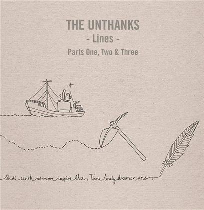"The Unthanks - Lines - Parts One, Two And Three (3 10"" Maxis)"