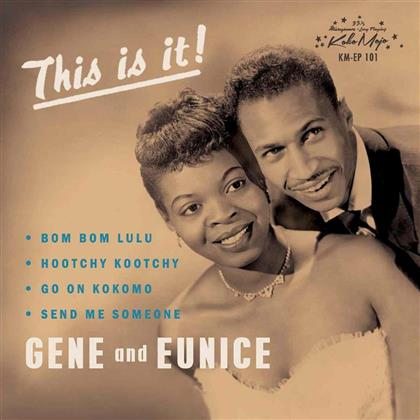 "Gene and Eunice - Bom Bom Lulu EP (7"" Single)"