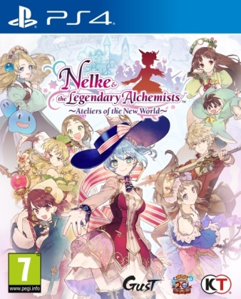Nelke & the Legendary Alchemists - Ateliers of the New World
