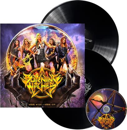 Burning Witches - Burning Witches + Burning Alive (Limited Edition, 2 LPs + CD)