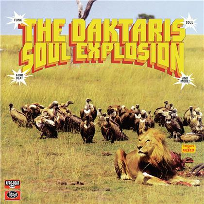 Daktaris - Soul Explosion (Limited Edition, Colored, LP + Digital Copy)