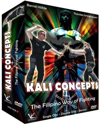 Kali Concepts - The Filipino Way of Fighting - Single Olisi - Doubli Olisi - Baraw (3 DVDs)
