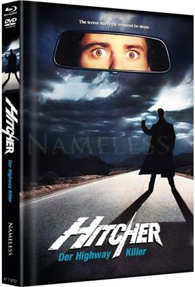 Hitcher - The Highway Killer (1986) (Cover B, Limited Edition, Mediabook, Blu-ray + DVD)