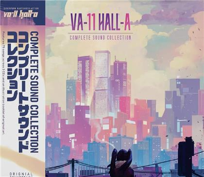 Garoad - Va-11 Hall-A: Complete Sound Collection - OST (3 CDs)