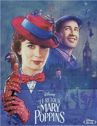 Le retour de Mary Poppins (2018) (Limited Edition, Steelbook)