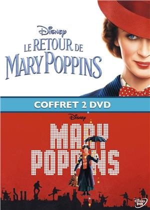 Mary Poppins & Le retour de Mary Poppins (Box, 2 DVDs)