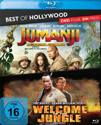 Jumanji - Willkommen im Dschungel / Welcome To The Jungle (Best of Hollywood, 2 Blu-rays)