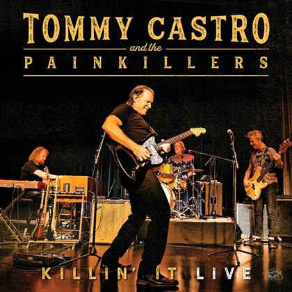 Tommy Castro & The Painkillers - Killin' It Live (Colored, LP + Digital Copy)