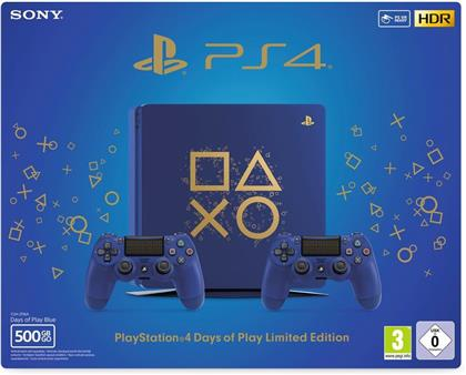 Sony Playstation 4 500GB SLIM - (Days of Play Edition)