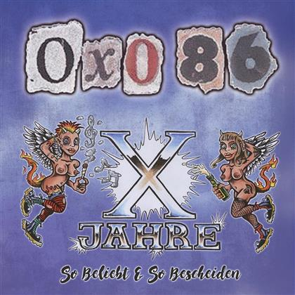 Oxo 86 - So Beliebt & So Bescheiden (2018 Reissue, Limited Edition, LP)