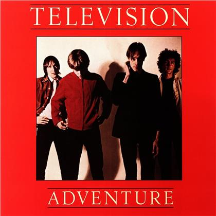 Television - Adventure (2019 Reissue, Limited Edition, Red Vinyl, LP)