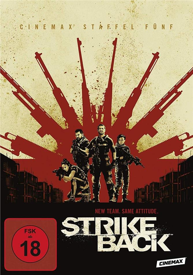 Strike Back - Staffel 5 (4 DVDs)