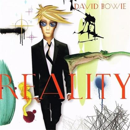 David Bowie - Reality (2019 Reissue, Friday Music, Audiophile, Translucent Gold & Blue Swirl Vinyl, LP)
