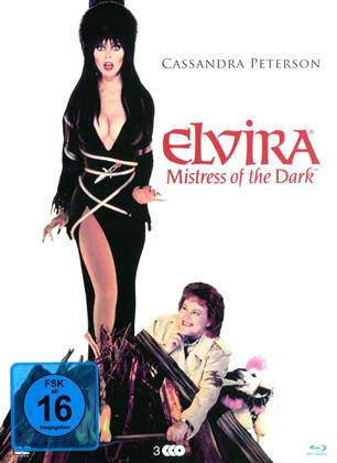 Elvira - Mistress of the Dark (1988) (Special Edition Modularbook, 2 Blu-rays + DVD)