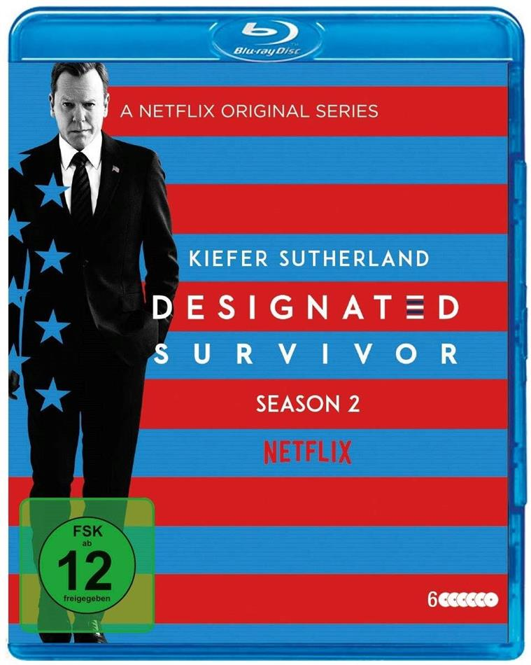 Designated Survivor - Staffel 2 (6 Blu-rays)
