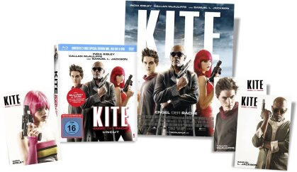 Kite - Engel der Rache (2014) (Limited Edition, Mediabook, Uncut, Blu-ray + DVD)