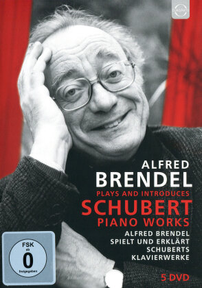 Alfred Brendel - Brendel plays and introduces Schubert (Euroarts, 5 DVDs)