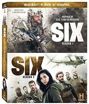 Six - Season 1+2 (4 Blu-rays + 6 DVDs)