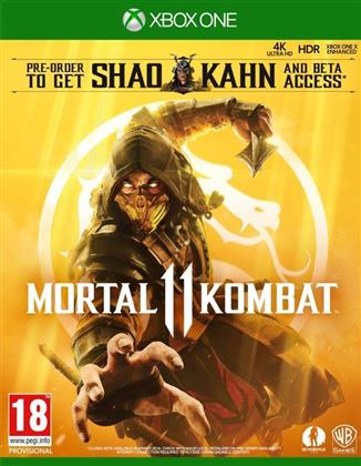 Mortal Kombat 11 XB-One AT D1 inkl Shao Khan (Day One Edition)