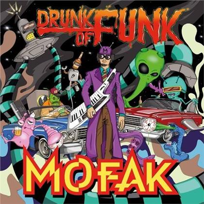 DJ Mofak - Drunk Of Funk (LP)