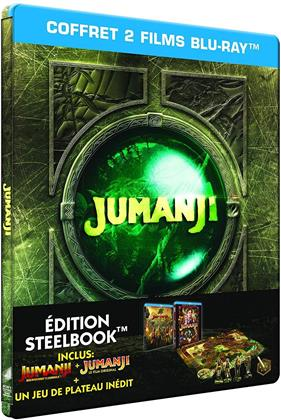 Jumanji - Coffret 2 Films (Limited Edition, Steelbook, 2 Blu-rays)