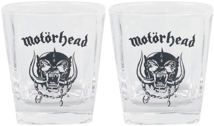 Motörhead - Whiskey glasses set of 2