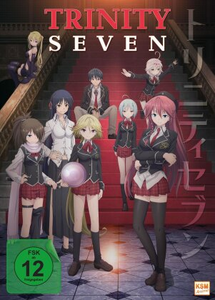 Trinity Seven: 7-nin no Masho Tsukai - Vol. 1-3 - Episode 1-12 (3 DVDs)