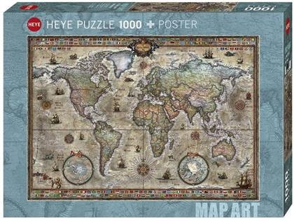 Retro World Puzzle