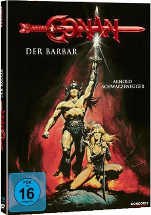 Conan - Der Barbar (1982) (Limited Edition, Mediabook, Blu-ray + DVD)