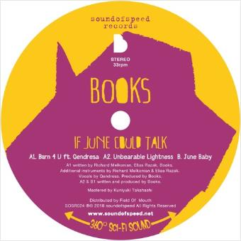 Books - If June Could Talk (LP)