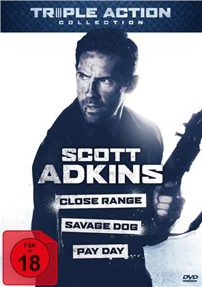 Scott Adkins Triple Action Collection - Close Range / Savage Dog / Pay Day (3 DVDs)