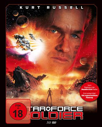 Star Force Soldier (1998) (Cover A, Mediabook, Blu-ray + DVD)