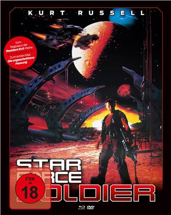 Star Force Soldier (1998) (Cover B, Mediabook, Blu-ray + DVD)
