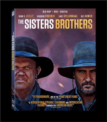 The Sisters Brothers (2018) (Blu-ray + DVD)
