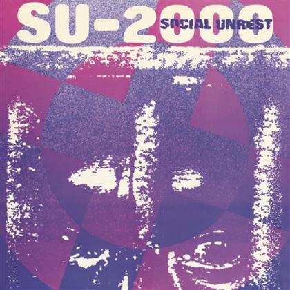 Social Unrest - Su-2000 (Limited Edition, Blue Vinyl, LP)