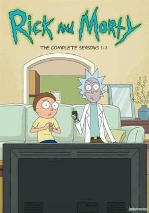 Rick and Morty - Seasons 1-3 (6 DVDs)