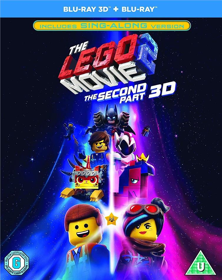 The LEGO Movie 2 - The second Part (2019) (Blu-ray 3D + Blu-ray)