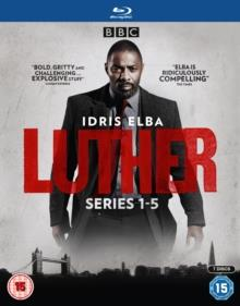 Luther - Series 1-5 (BBC, 7 Blu-rays)
